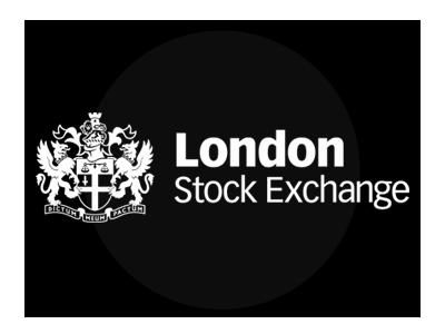 ロンドン株式に上場