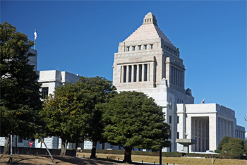 カジノ見送り・国会